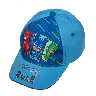 Καπέλο Τζόκευ Pj Masks (2-5 ετών)