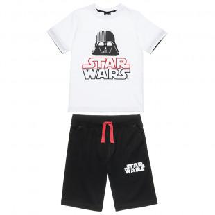 Σετ Star Wars μπλούζα με βερμούδα (6-14 ετών)