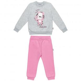 Σετ Five Star μπλούζα με τύπωμα και φόρμα (12 μηνών-5 ετών)