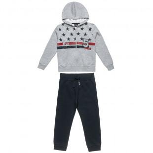 Σετ Φόρμας Five Star ζακέτα με κουκούλα και παντελόνι με λάστιχο (6-16 ετών)