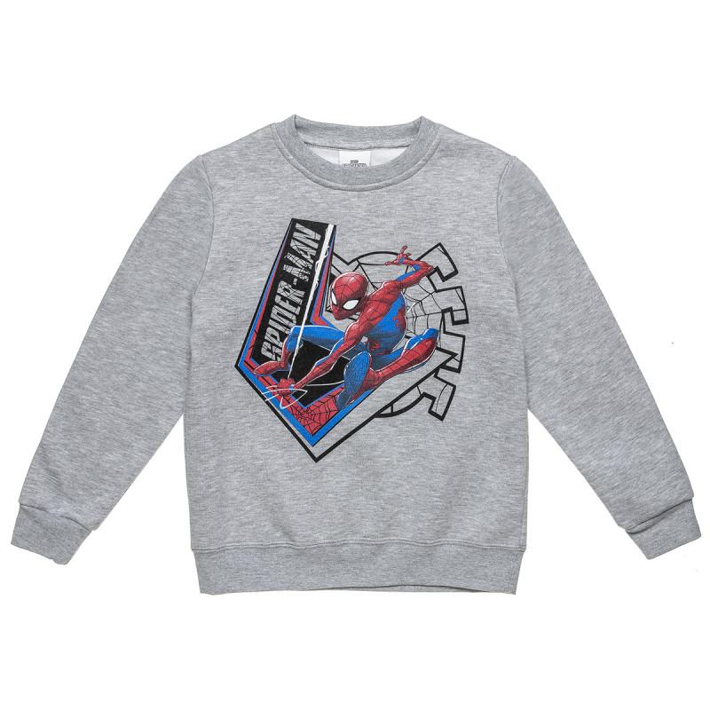 Μπλούζα φούτερ Spiderman με τύπωμα (3-10 ετών)