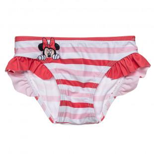 Μαγιό μονοκίνι Disney Minnie Mouse με βολάν (6 μηνών-2 ετών)