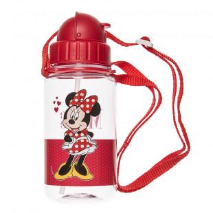 Παγούρι με καλαμάκι Minnie Mouse