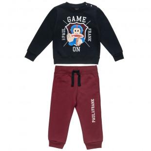 Σετ Φόρμας Paul Frank μπλούζα με τύπωμα Julius (12 μηνών-5 ετών)