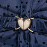 Μπουφάν με μοτίβο καρδούλες και αποσπώμενη κουκούλα (6-16 ετών)