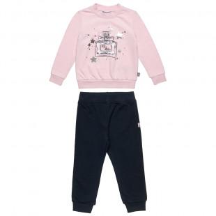 Σετ Φόρμας Five Star μπλούζα με foil λεπτομέρειες και παντελόνι (9 μηνών-5 ετών)