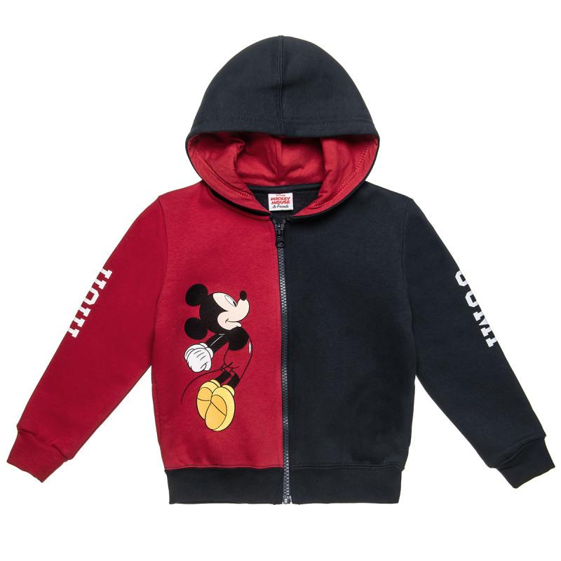 Ζακέτα Disney Mickey Mouse με κουκούλα (18 μηνών-5 ετών)