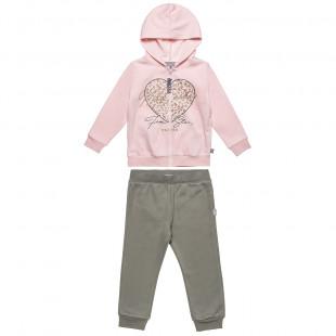 Σετ Φόρμας Five Star ζακέτα με κουκούλα και παντελόνι με λάστιχο (12 μηνών-5 ετών)
