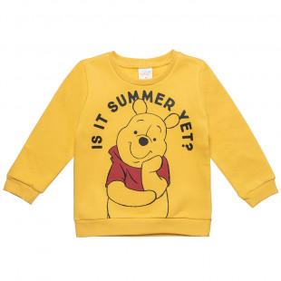 Μπλούζα Disney Winnie the Pooh με τύπωμα (9 μηνών-3 ετών)