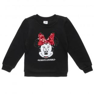 Μπλούζα Disney Minnie Mouse με διπλή παγιέτα (4-12 ετών)