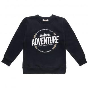 """Μπλούζα με τύπωμα """"adventure"""" (6-16 ετών)"""
