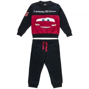Σετ Φόρμας Disney Cars μπλούζα με τύπωμα και παντελόνι (2-8 ετών)