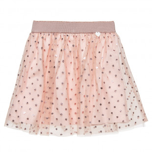 Skirt with tulle (2-5 years)