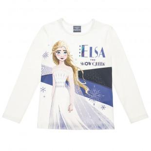 Μπλούζα Disney Frozen Elsa με glitter (6-10 ετών)