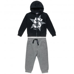 Set Five Star cardigan with hood and pants (12 monhts-5 years)