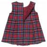 Φόρεμα καρό με φιογκάκια (9-18 μηνών)