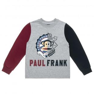 Μπλούζα Paul Frank με ανάγλυφο τύπωμα (6-12 ετών)