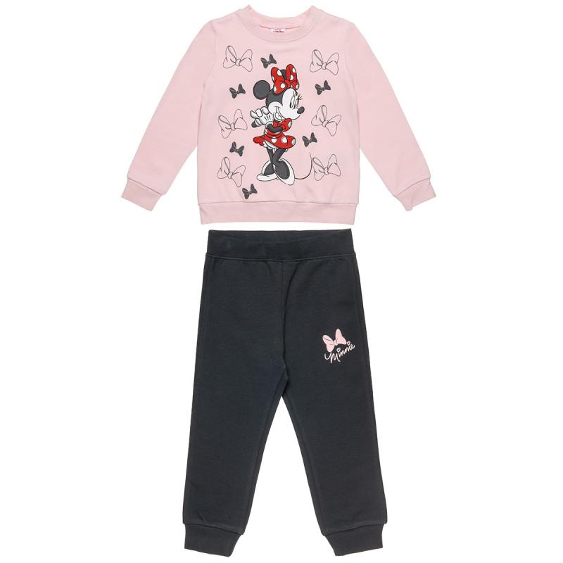 Σετ Φόρμας Minnie Mouse μπλούζα και παντελόνι (12 μηνών-5 ετών)