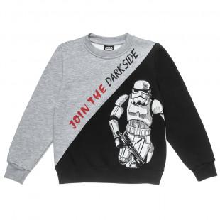 Μπλούζα Star Wars με ανάγλυφο τύπωμα Stormtrooper  (6-14 ετών)