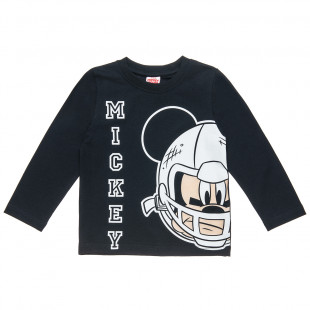 Μπλούζα Disney Mickey Mouse με ανάγλυφο τύπωμα (18 μηνών-5 ετών)