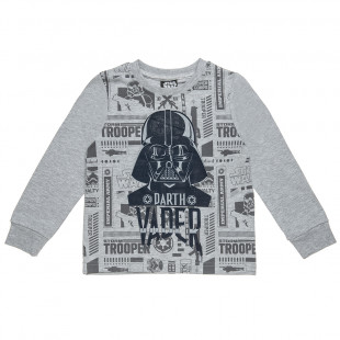 Blouse Stars Wars with print (2-5 years)
