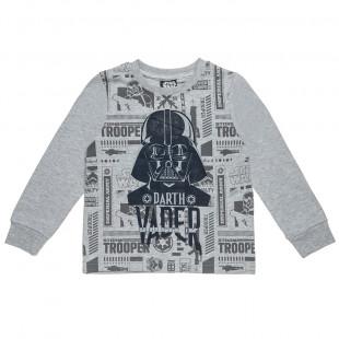 Μπλούζα Star Wars με ανάγλυφο τύπωμα (2-5 ετών)