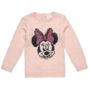 Πουλόβερ Disney Minnie Mouse μοχέρ (12 μηνών-3 ετών)