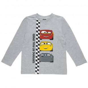 Μπλούζα Disney Cars με τύπωμα (3-8 ετών)