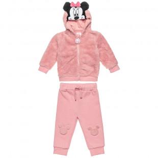 Σετ Disney Minnie Mouse ζακέτα με παντελόνι (9-18 μηνών)