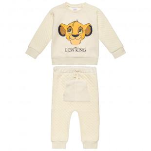 Σετ Disney Lion King μπλούζα με παντελονάκι (12 μηνών-3 ετών)