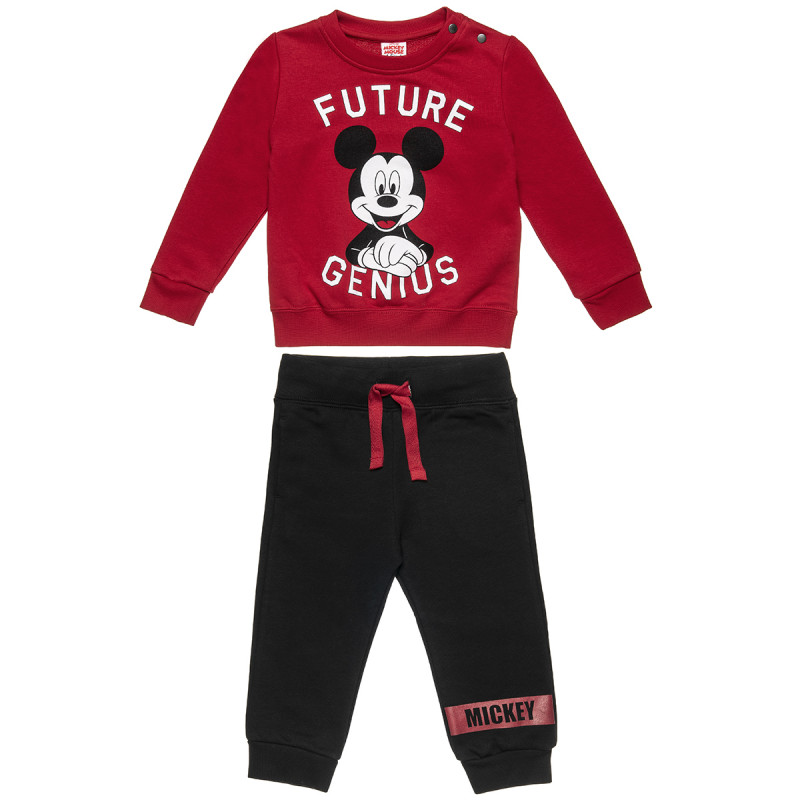 Σετ φόρμας Disney Mickey Mouse μπλούζα με παντελόνι (18 μηνών-5 ετών)