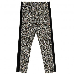 Leggings with leopard print (6-14 years)