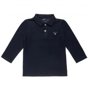 Μπλούζα Gant polo με γιακά (2-5 ετών)