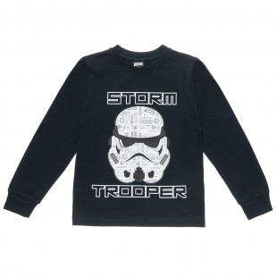 Blouse Star Wars with print Storm Trooper (2-5 years)
