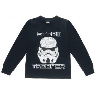 Μπλούζα Star Wars με τύπωμα Storm Trooper (2-5 ετών)