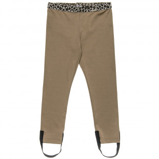 Leggings with leopard details (6-14 years)