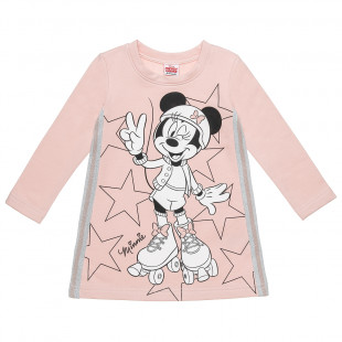 Φόρεμα Disney Minnie Mouse με τύπωμα (18 μηνών-5 ετών)