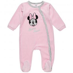 Φορμάκι Minnie Mouse με τύπωμα κέντημα (1-12 μηνών)