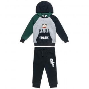 Σετ φόρμας Paul Frank μπλούζα με ανάγλυφο τύπωμα και παντελόνι (18 μηνών-5 ετών)