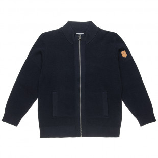 Cardigan woven with zipper (6-14 years)