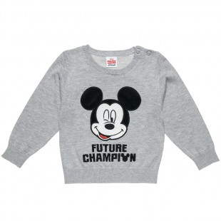 Πουλόβερ πλεκτό Mickey Mouse (9 monhts-5 years)