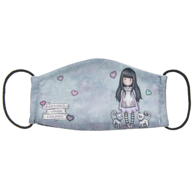 Μάσκα υφασμάτινη Santoro με σχέδιο (7-16 ετών)