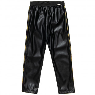 Leggings with leather look (6-16 years)