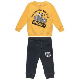 Σετ Φόρμας Disney Mickey Mouse μπλούζα με τρουκς και παντελονάκι (12 μηνών-5 ετών)
