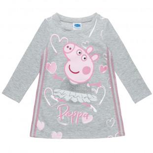 Φόρεμα Peppa Pig με glitter (2-5 ετών)