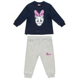 Σετ Φόρμας Daisy Duck μπλούζα με παντελονάκι (18 μηνών-6 ετών)
