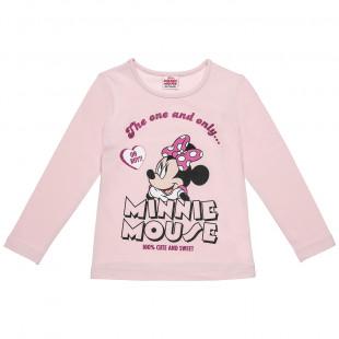 Μπλούζα Disney Minnie Mouse με τύπωμα (2-5 ετών)