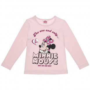 Top Disney Minnie Mouse with print (2-5 years)