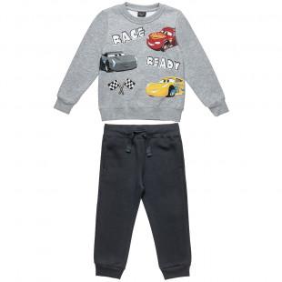 Σετ Φόρμας Disney Cars μπλούζα με τύπωμα και παντελονάκι με λάστιχο (3-6 ετών)
