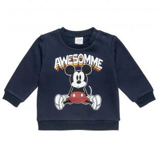 Μπλούζα Mickey Mouse με τρουκς στον ώμο (9 μηνών-3 ετών)